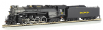 50906 Bachmann 2-8-4 Berkshire Nickel Plate #765 (DCC On Board)